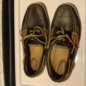 Sperry Top-Sider Shoes Loafers Brown Size 8